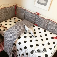 3pcs/set Baby bedding set baby crib bedding set bumper ...