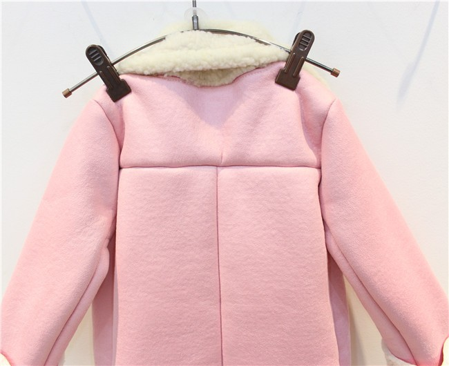 30e451cce ᐂ2017 new autumn and winter Kids girls Korean casual pink Suede ...