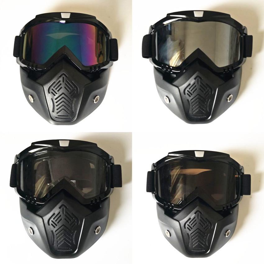 ツ)_/¯Gafas de esquí deportes al aire libre fresco Gafas máscara de ...