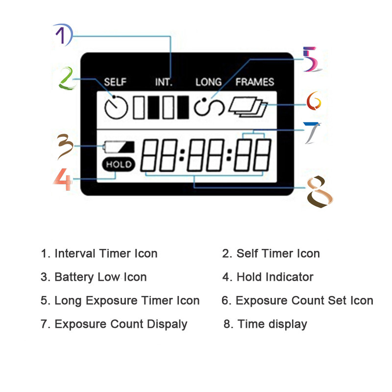 2019 TC 80N3 Digital Camera Timer Remote Control Shutter
