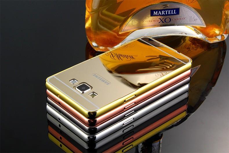 ᐃG530 galjanoplastia Marcos + espejo de acrílico para Samsung ...