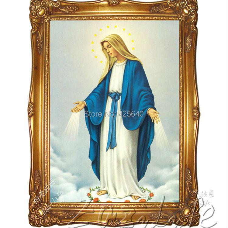 ③Decoración para el hogar Jesus Christ virgen mucha decoración del ...