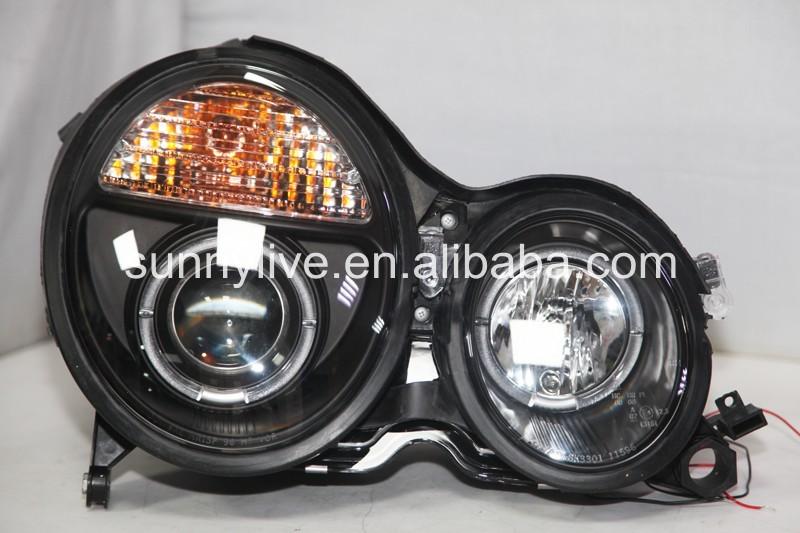 Mercedes E-Class W210 100w Clear Xenon HID High Main Beam Headlight Bulbs Pair
