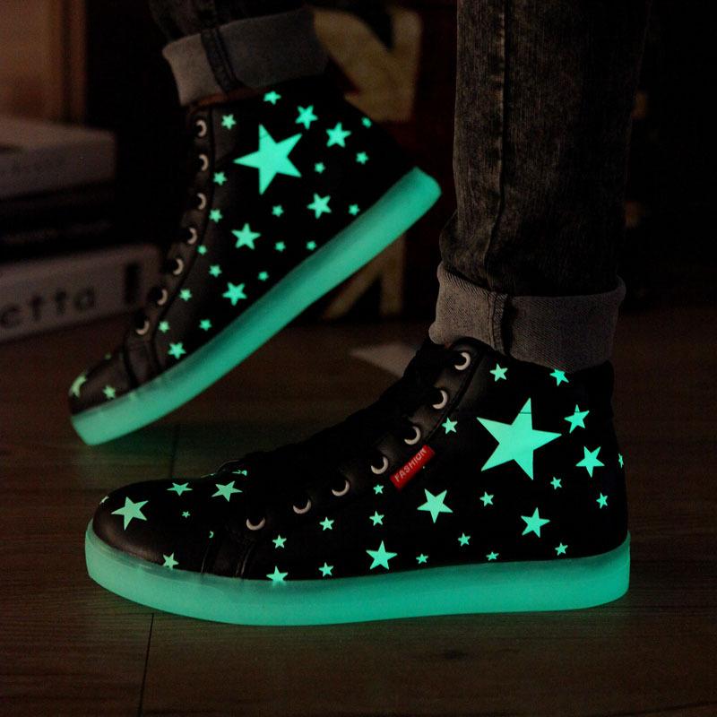 Led Light Shoes Men