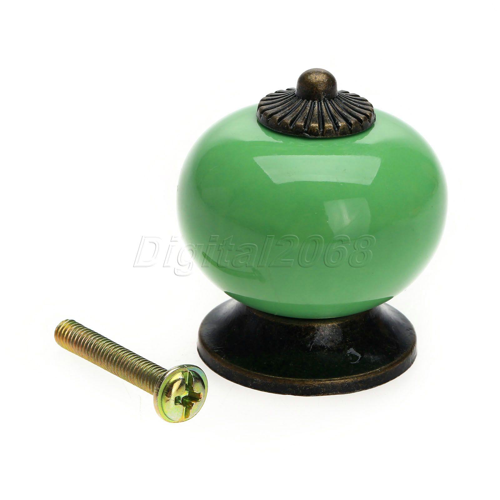 ceramic drawer pulls kitchen ashley furniture island hot sale colorful vintage door pull knobs cabinet