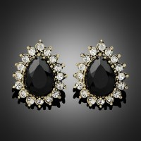 Womens Black Stud Earrings With Perfect Styles  playzoa.com