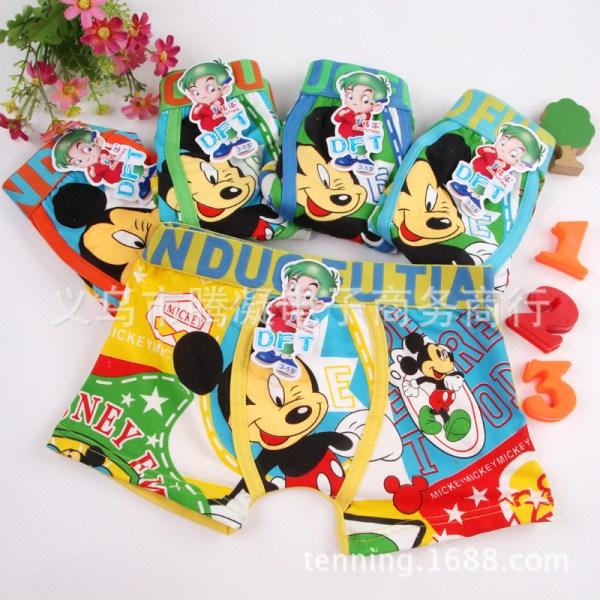 Mickey Mouse Underwear Cartoon Girl