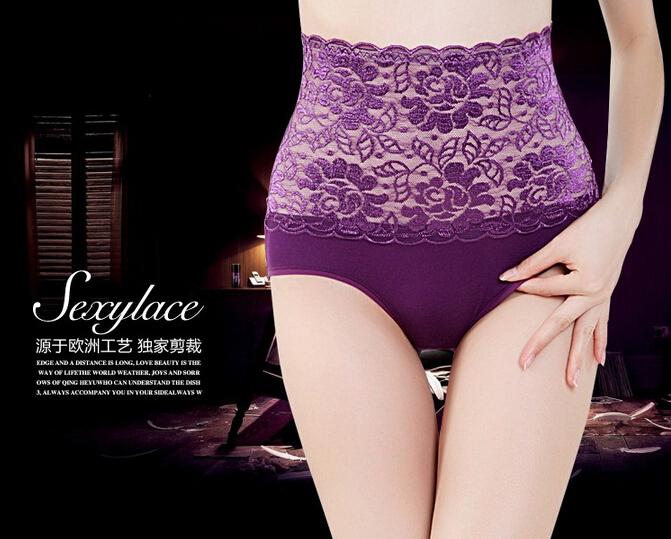 sexy alta cintura flor Encaje Bragas Cuerpo ... Ropa interior de mujer alta  cintura Encaje ... Bragas mujeres Ropa interior Cuerpo cadera alta . 08e6440bd54d
