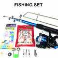 Lure Rod Carbon Deep Sea Saltwater Fishing Rod Portable Foldable Travel Spinning Cheap Telescopic Rods and