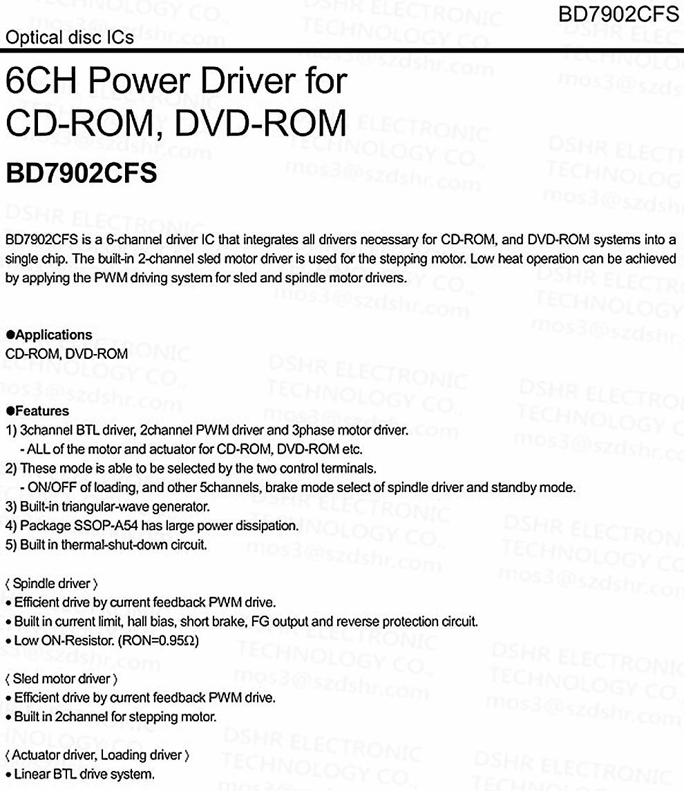 Bd7902fs 10pcs Lot Bd7902hfs Hssop54 Bd7902cfs Bd7902 E2 Led Pwm Tubelight Circuit Atomizer Coil Temperature Controller Aeproduct