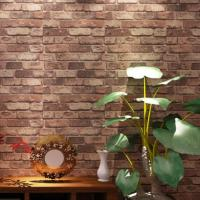 Vintage-Natural-Brick-Wallpaper-3D-Effect-Realistic-Faux ...