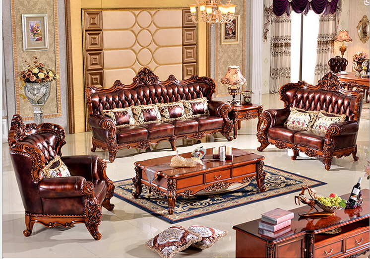 High Quality Luxury Best Quality wood funiture Living Room