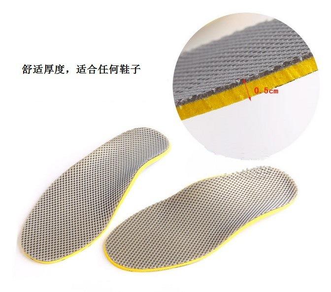 Footful Plantillas Almohadillas de Apoyo Arco Ortopédicos Dolor Unisex Negro M F5J688