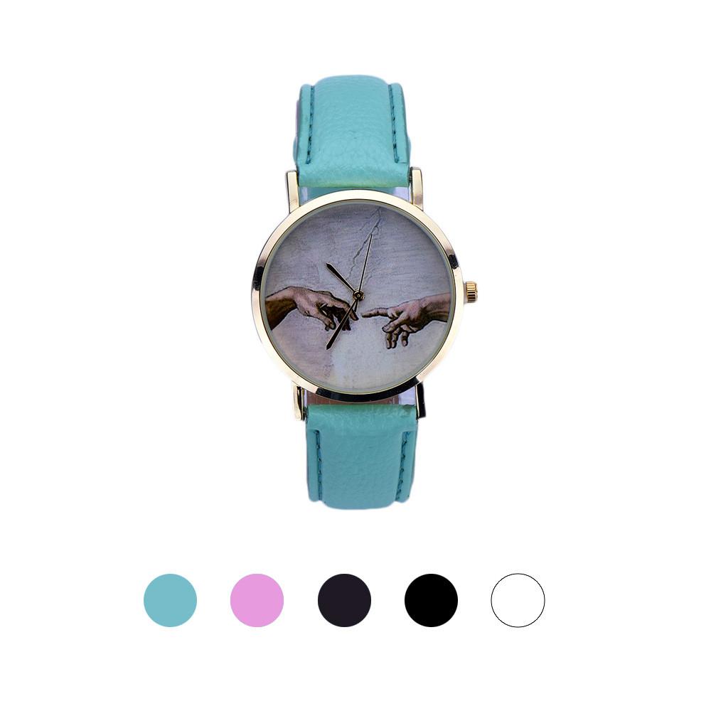 250e9a9e0 ⑥Irisshine i0276 Mulheres relógios Estilo Retro Relógio de Quartzo ...