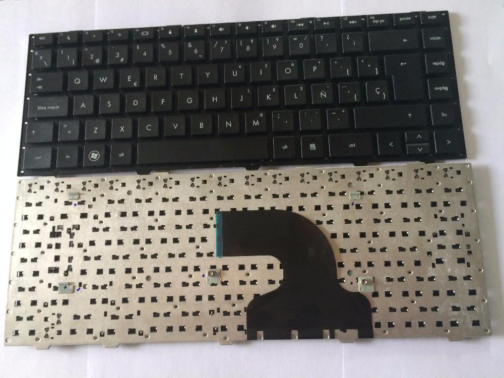 ᗔНОВЫЙ Испанский SP Клавиатура для HP 4440 S 4441 s 4445 ...