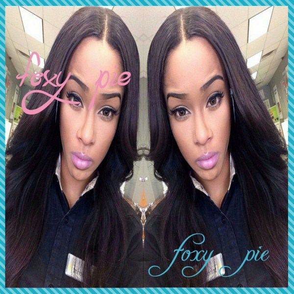 Long Straight Hair Middle Part Sew In Imgurl