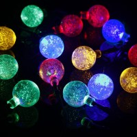 30led solar string lights Christmas bubble ball string ...