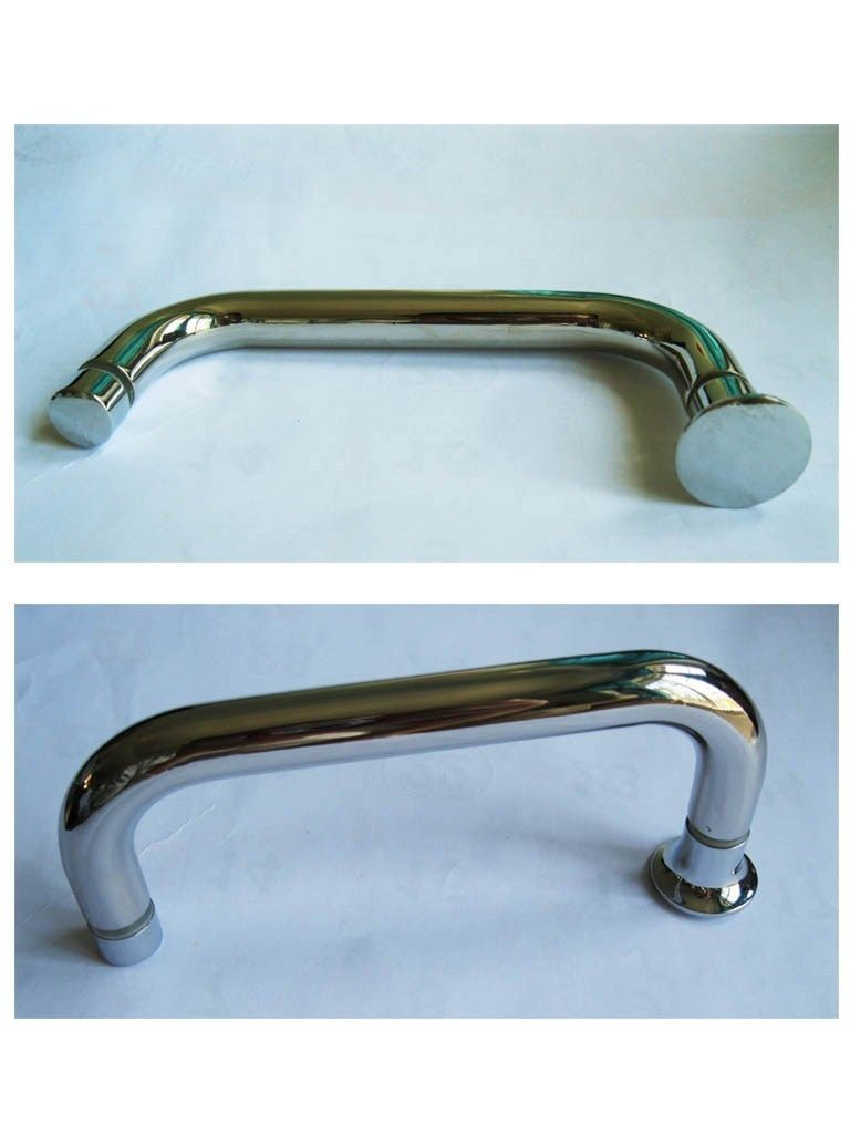 Shower handle shower room handle double stainless steel handle ...