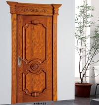 Factory price customized latest design wooden door