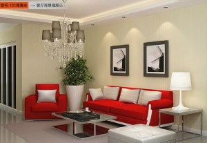 minimalist living wall background solid tv modern non paper sofa wallcovering woven striped luxury 3d leather height
