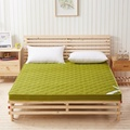 NEW Topper Quilted Bed Thicken Massage Mattress Double Single Dormitory Mattress Bamboo Fiber Air Mattress Camping