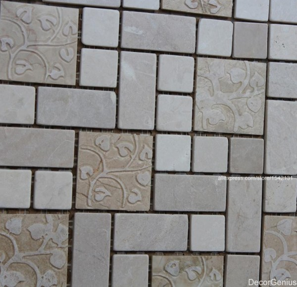Cutting Mosaic Tile Backsplash