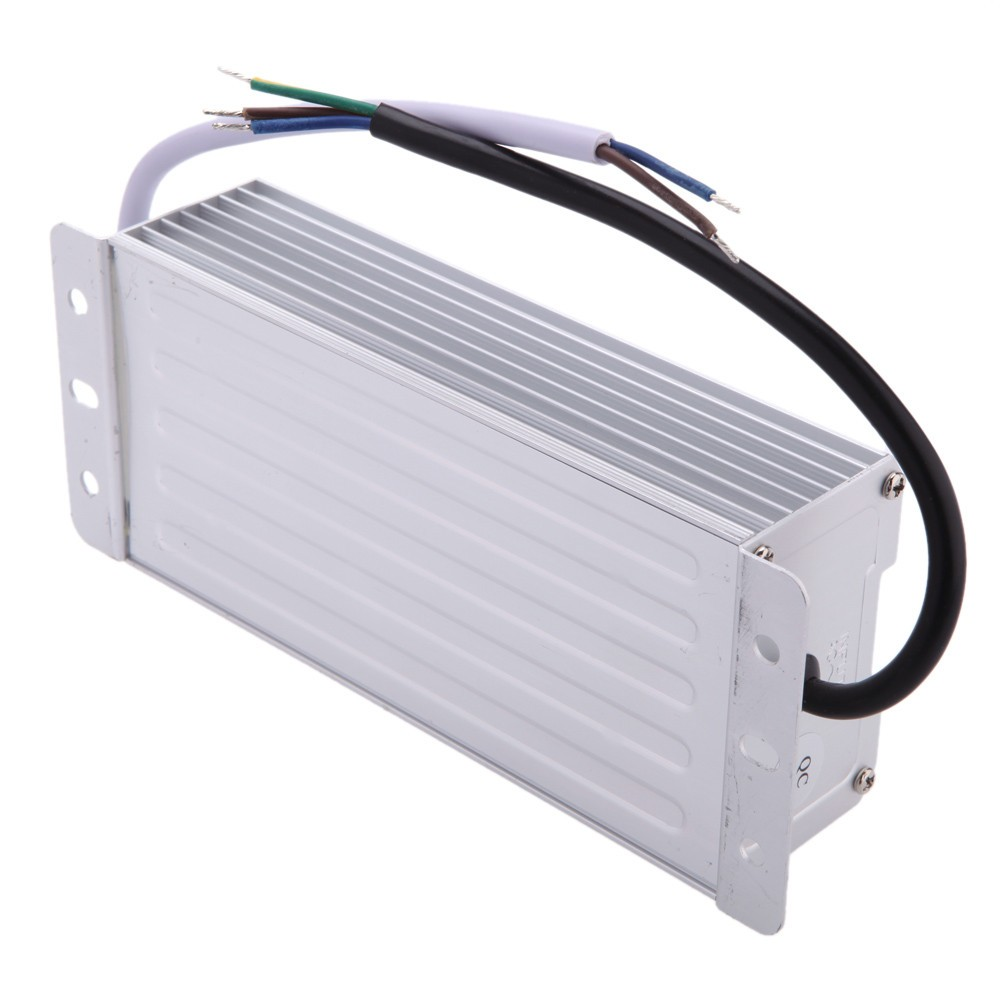 Metal Case Waterproof Ip67 Transformer Switch Power Supply 60w 80w Simplest 1 Watt Led Driver Circuit At 220v 110v Mains Voltage Ac To Dc 12v Adapter For Strip Garden Lamp