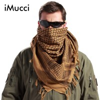 Men Winter Military Windproof Scarf Muslim Hijab Shemagh ...