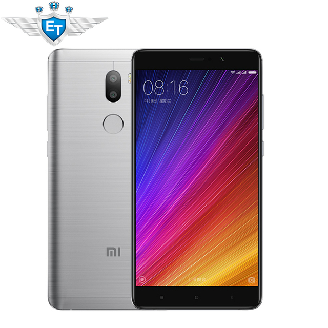 "Original Xiaomi Mi5S Plus 5.7"" Snapdragon 821 Quad Core Mi5S Plus 13MP Camera 4GB RAM 64GB ROM Fingerprint ID NFC cellphone"