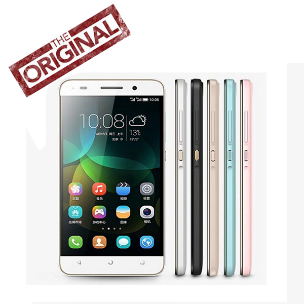Золотой запас 100% первоначально Huawei честь 4C сотовый телефон Android 4.4 кирин 620 Octa ядро 2 г оперативной памяти 8 г ROM 5.0 '' LTPS 13Mp две SIM карты