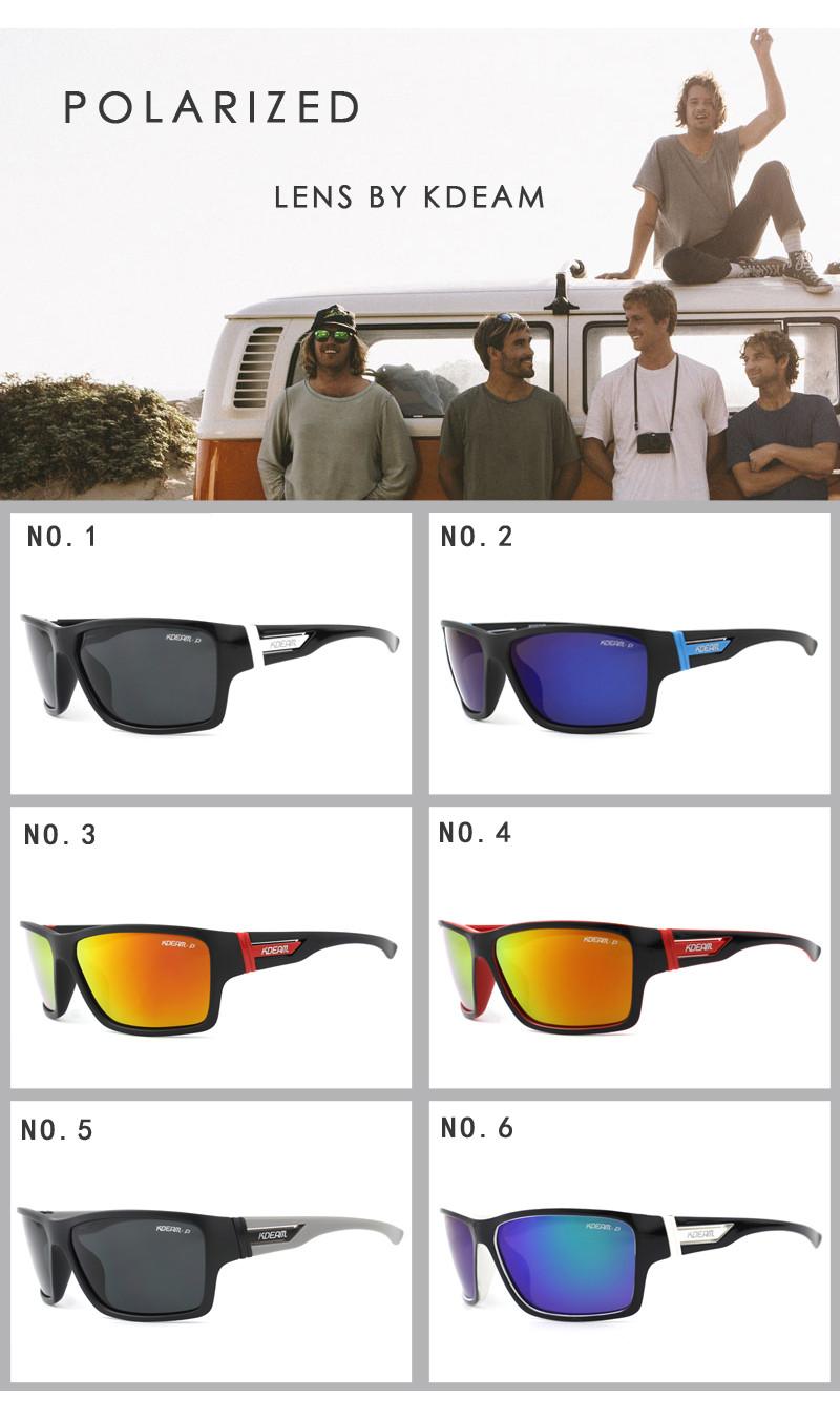 Gafas Kdeam Sqthrdc Forma Para Hombres Luz Rectángulo Sol De JcF3lTK1