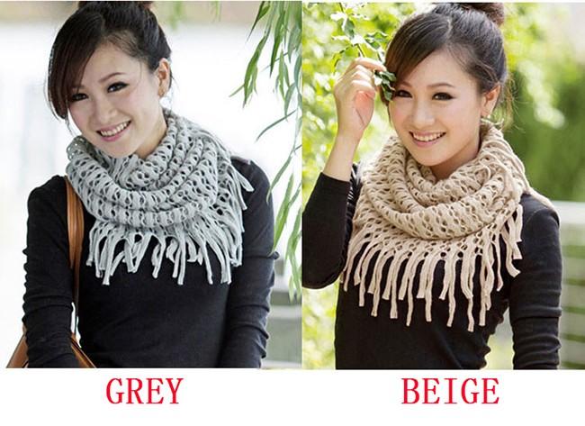200pcslot Fashion Women Scarves Autumn Winter Warm Knit Wool