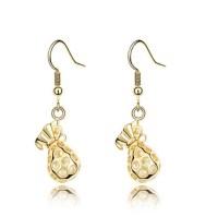 2015 New Trend cube crystal earring beautiful girl big ...