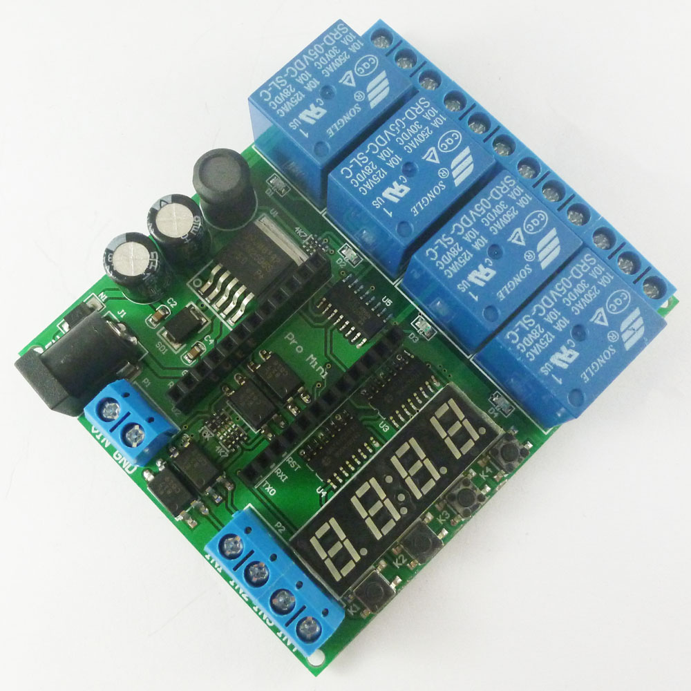 Digital Timer Relay Output