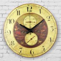 large decorative wall clock absolutely silent living room ...