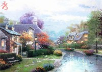 Popular Spring Landscape Paintings-Buy Cheap Spring ...