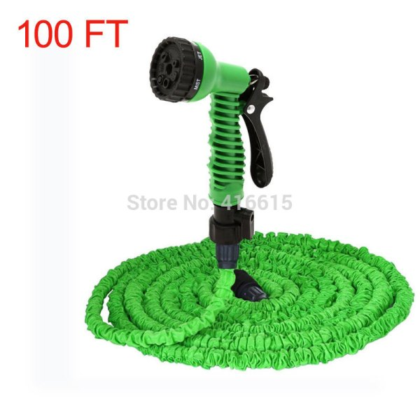 Retractable Expandable Magic Water Watering Garden Hose 100ft 100 Ft