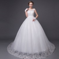 New Style Sexy Lace Wedding Dress Ball Gown wedding Gown ...