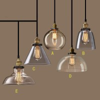 Nordic Vintage GlassPendant Lamp American Country Kitchen ...