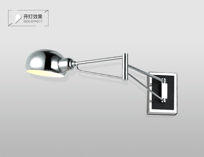 bedroom wall lamp with reading light - bedroom design