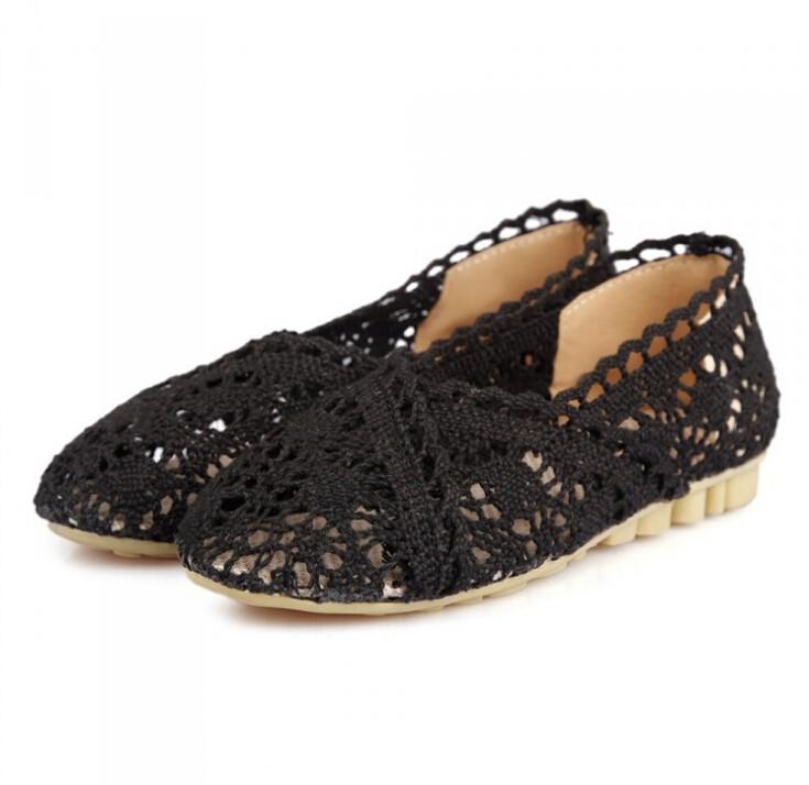 1f2c16036 ... genuíno couro de sapatas lisas do bailado das mulheres do sexo feminino  deslizamento em sapatos baixos sapatos casuais sapatos de couro do  carro-styling ...