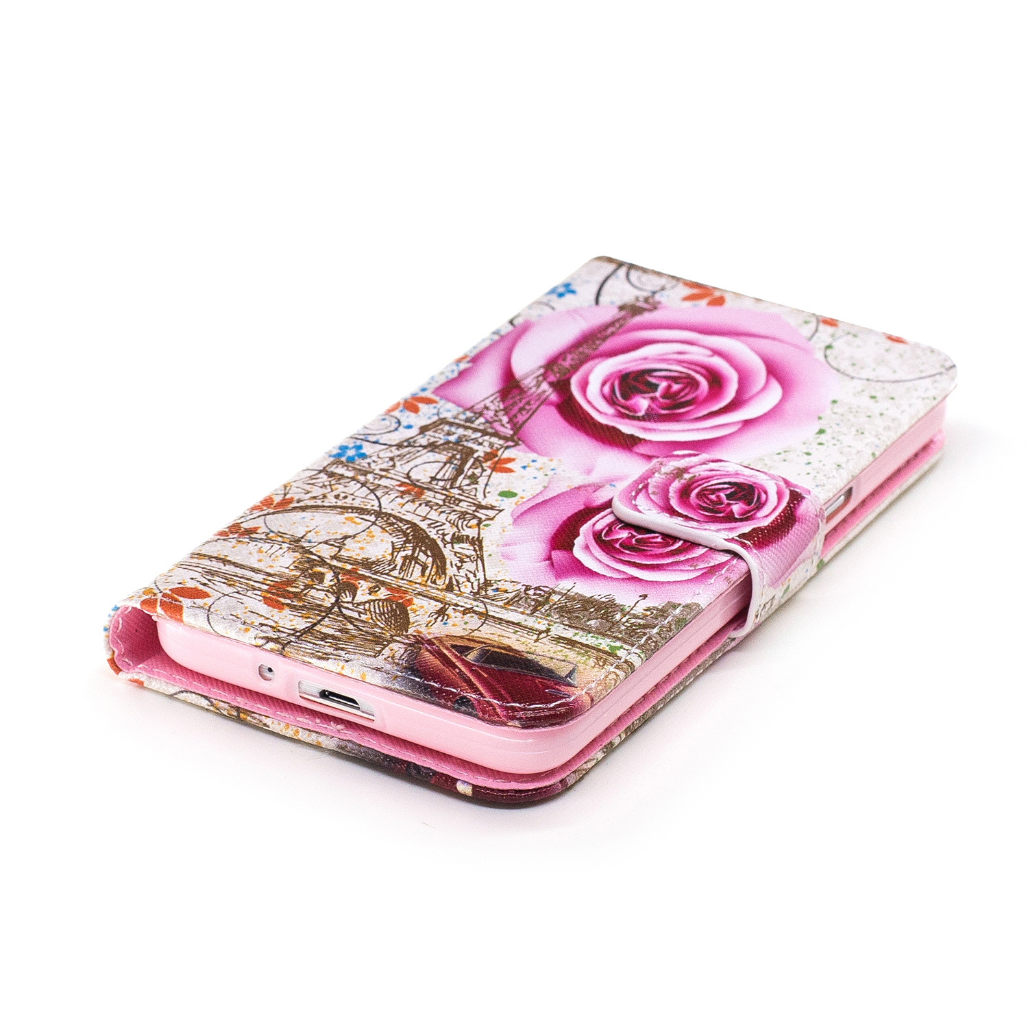 Flower Leather Phone Case For Samsung Galaxy Grand Prime G530 G530H G5308W DUOS G531 G531H SM G531F Cover Flip Wallet Bag Holder