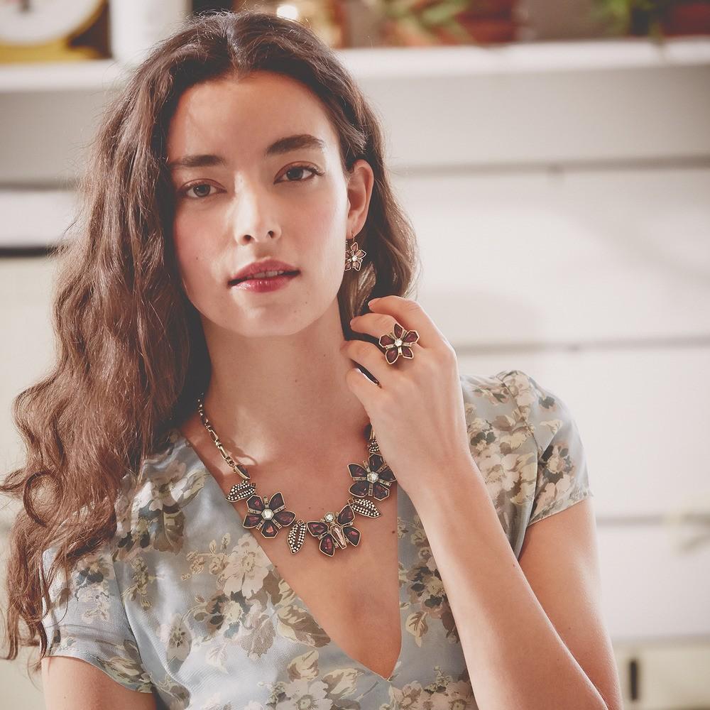 7d1b7f1d2 Collar de la moda de marca nueva llegada preciosa Cadena de metal ...