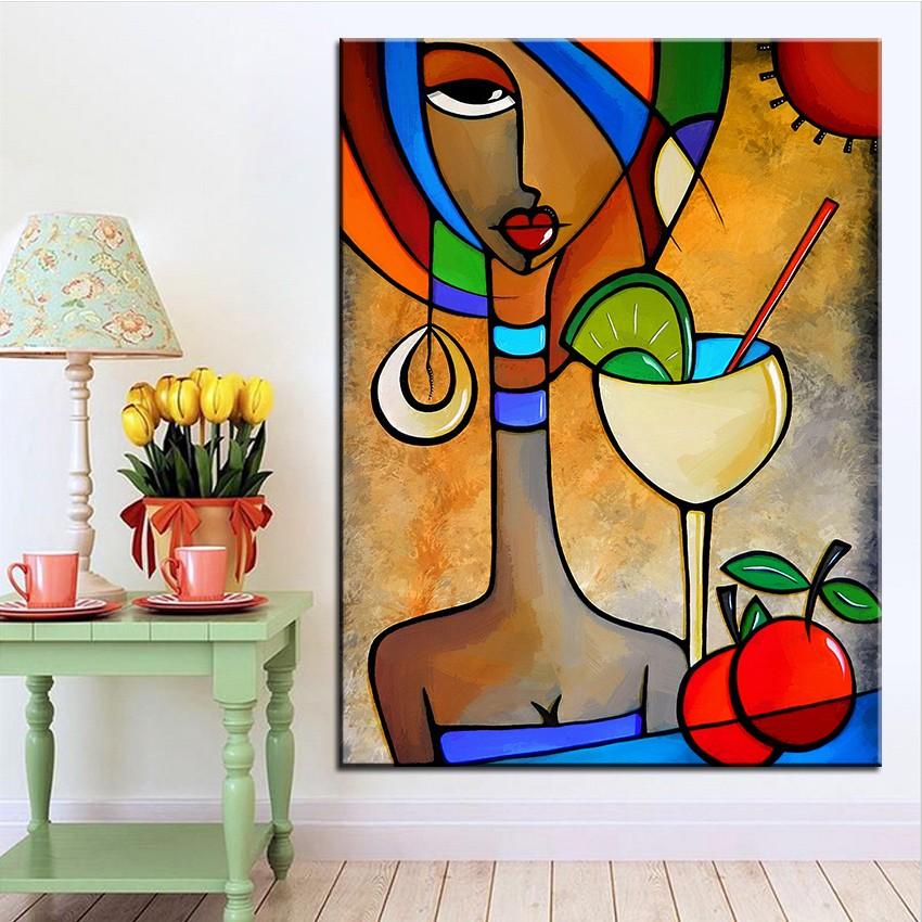 Futuristic Oil Painting Ideas For Living Room Decor
