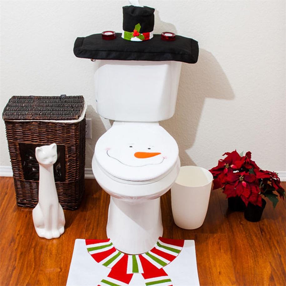 Snowman Bathroom Set 28 Images Xmas Snowman Toilet