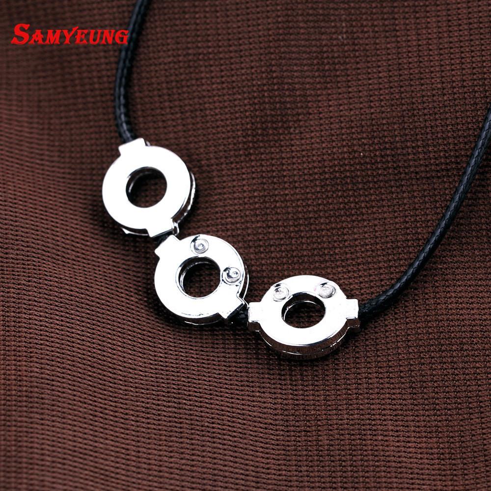 080e12f71ea8 Samyeung Anime Bijoux Naruto Itachi collar Cosplay Naruto collar de ...