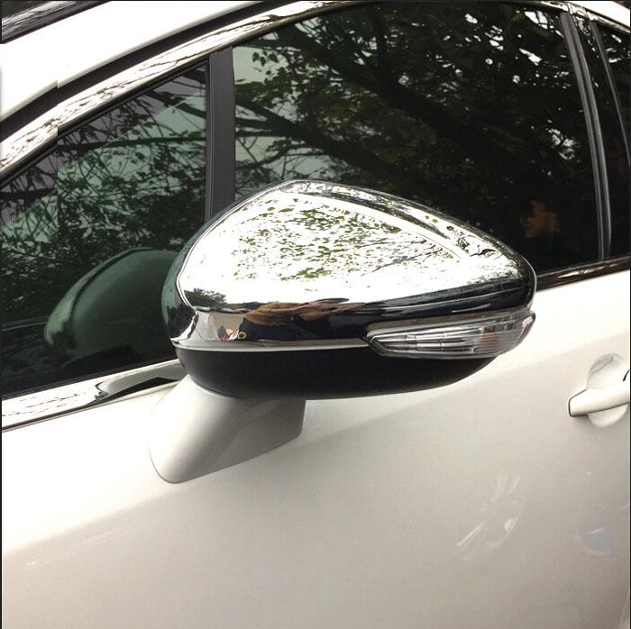 2014-2015 Chevy Silverado 1500 Chrome Top Mirror Cover+4 Door Handles+Gas Door