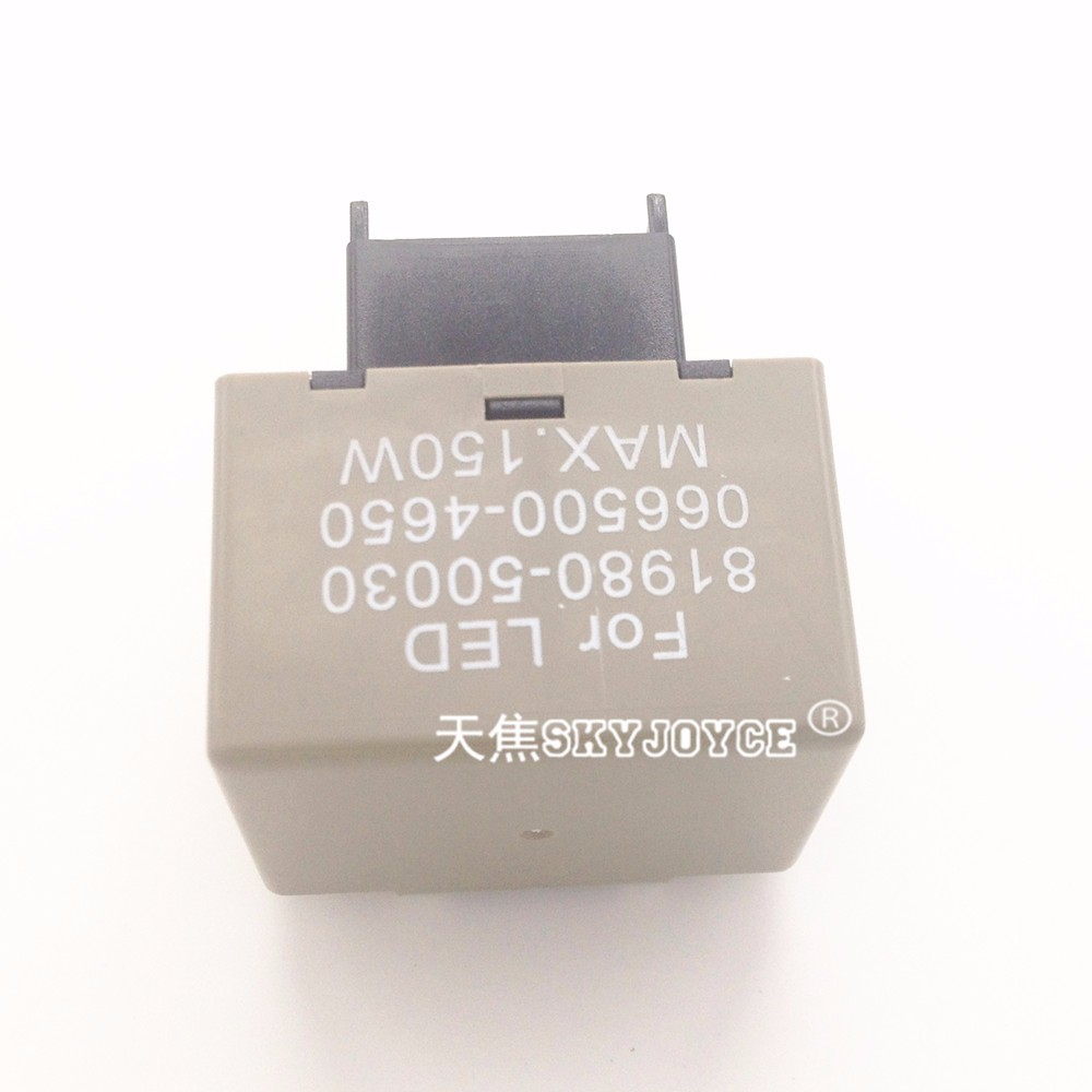 hight resolution of  10x 12v car motorcycle led flasher led relay module 8 pin adjustable car flasher led