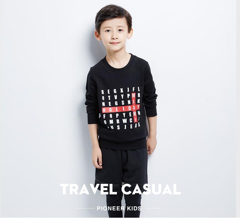 b786aa6143 ✅Pioneer crianças 2016 novos meninos hoodies100 % algodão de manga ...