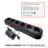 TYT MD380 MD280 radio universal rapid charger same time recharge six walkie talkie machine MD 380